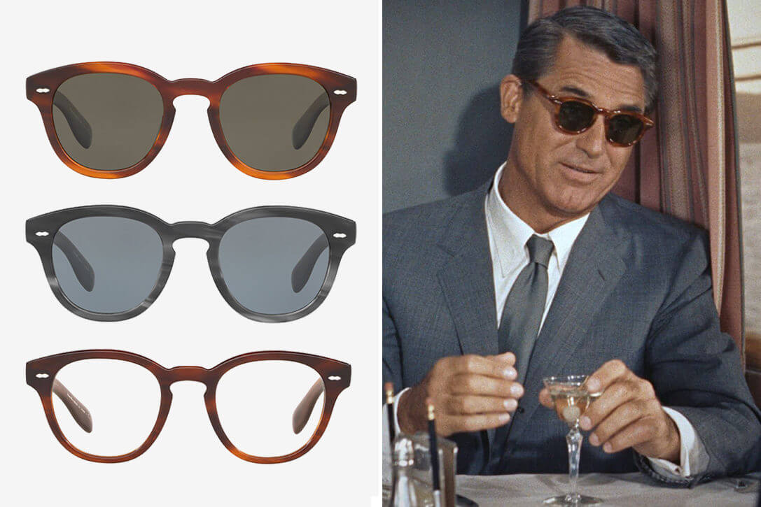 Oliver Peoples Cary Grant Collaboration